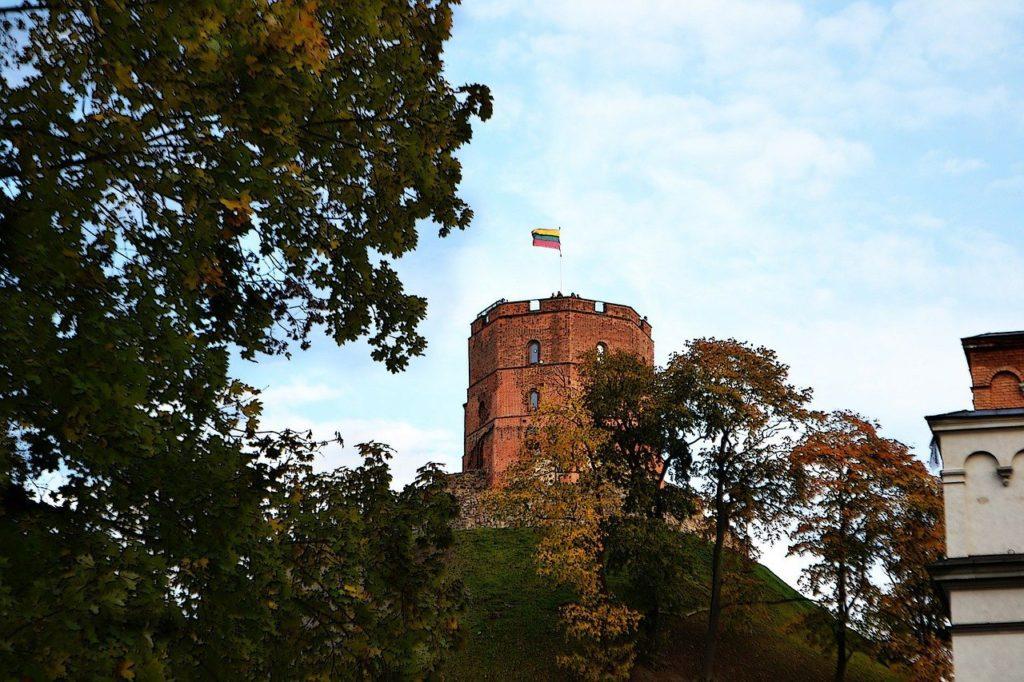 Gediminasův hrad – nejstarší hrad Vilniusu.