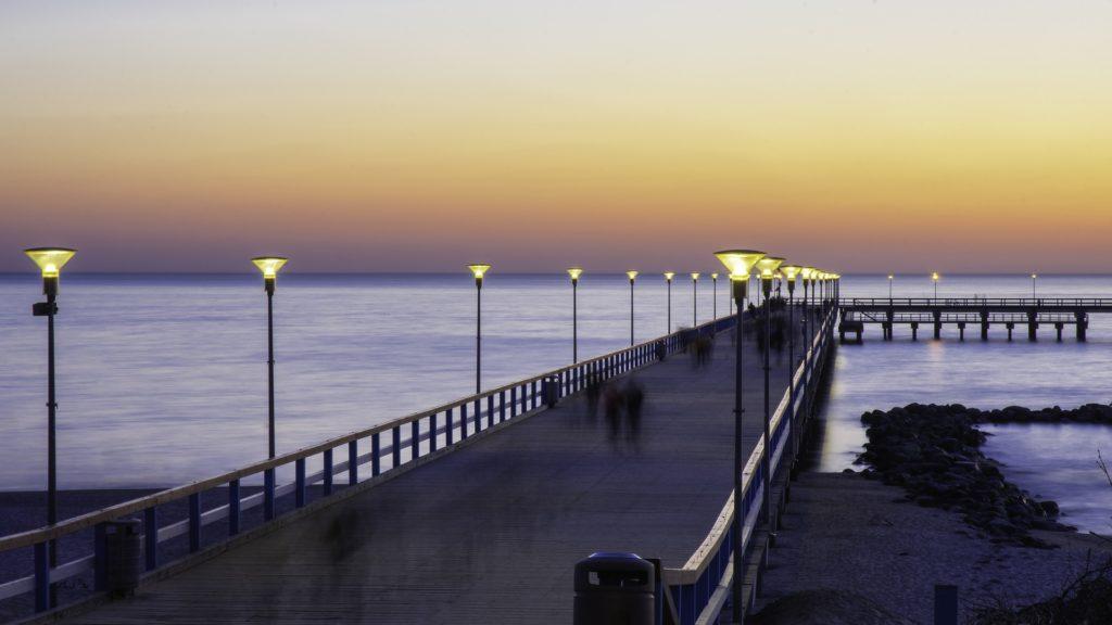 Palanga – nejpopulárnější přímořské letovisko Litvy.