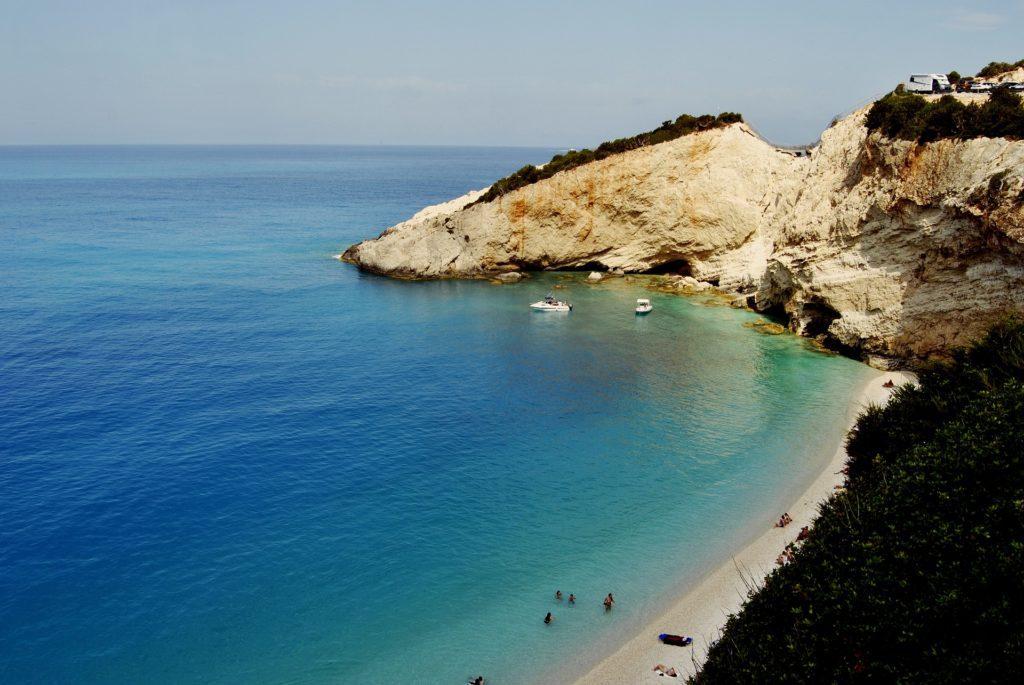 Katsiki na ostrově Lefkada patří mezi nejkrásnější pláže světa.