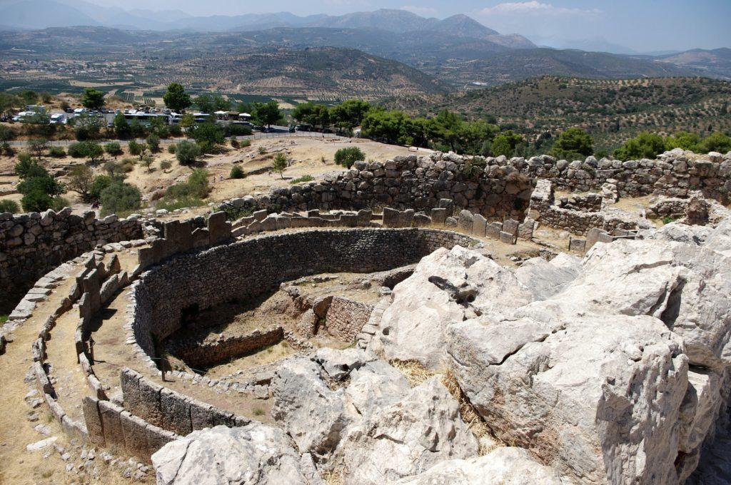 Mykény bývaly centrem první řecké civilizace.